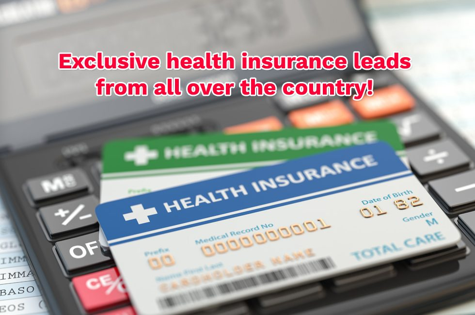 Exclusive health insurance leads